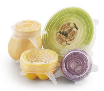 Reusable, Super Stretch Expand-a-Lids