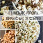 11 Homemade Popcorn Toppings and Seasonings