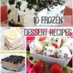 10 Frozen Dessert Recipes
