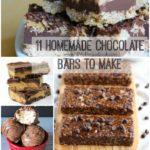 11 Homemade Chocolate Bars to Make