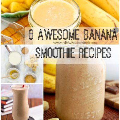 6 Awesome Banana Smoothie Recipes
