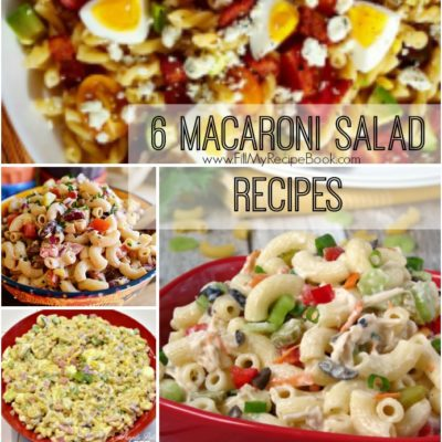 6 Tasty Macaroni Salad Recipes