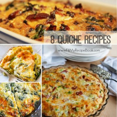 8 Totally Yummy Quiche Recipes
