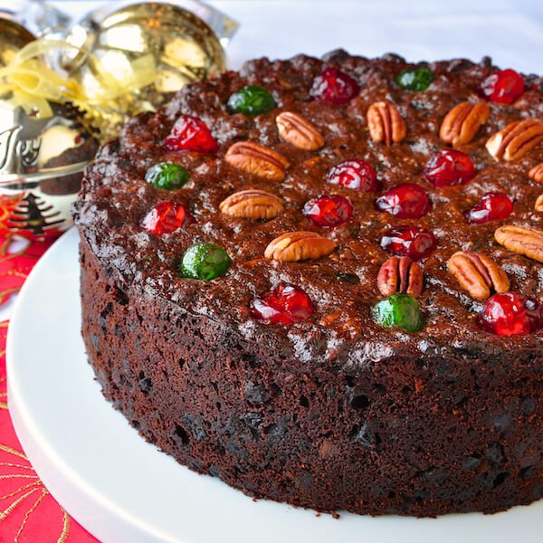 Old English Fruit Cake Recipe