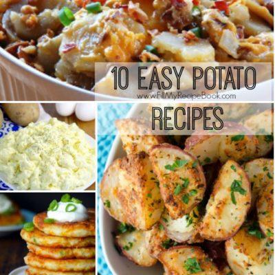10 Easy Potato Recipes