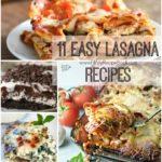 11 Easy Lasagna Recipes
