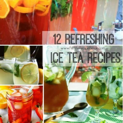12 Refreshing Ice Tea Recipes