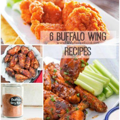 6 Buffalo Wing Recipes