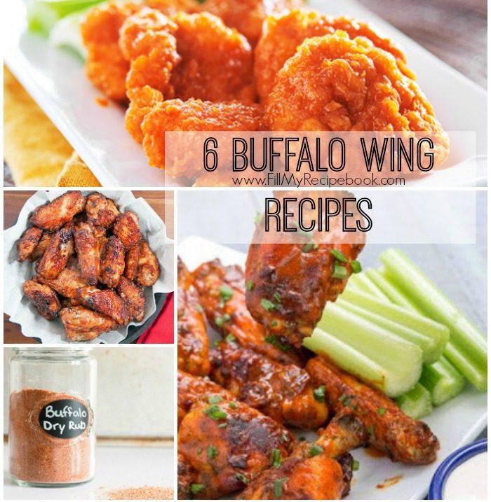 6-buffalo-wing-recipes