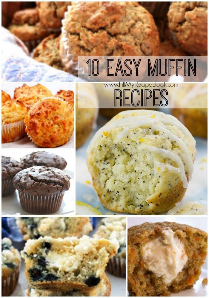 10 Easy Muffin Recipes Fill My Recipe Book