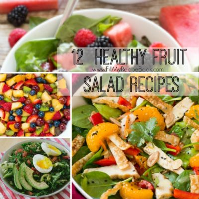 12  Healthy Fruit Salad Recipes