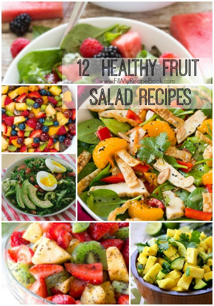 which fruit is healthy healthy fruit salads recipes
