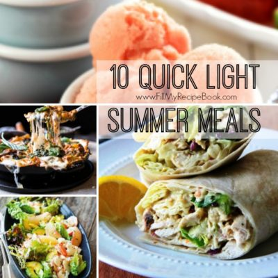 10 Quick Light Summer Meals