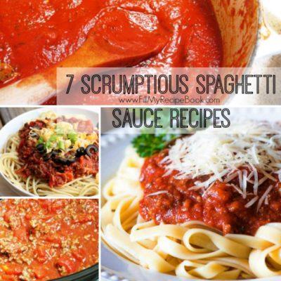 7 Scrumptious Spaghetti Sauce Recipes