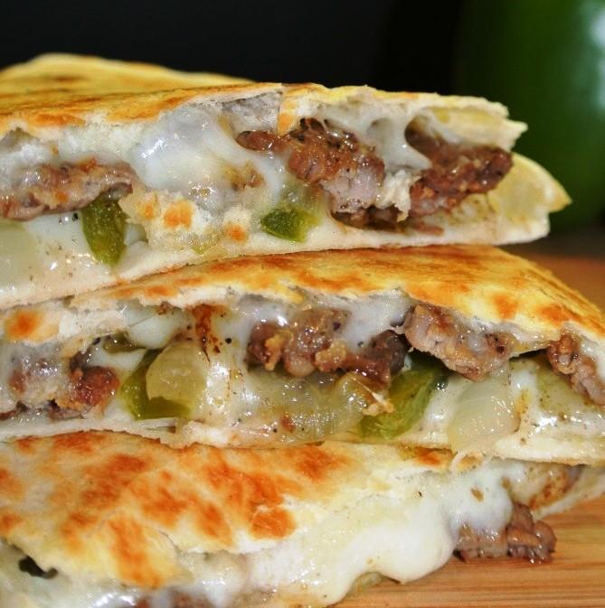 cheese-steak-quesadillas