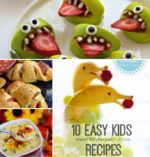 10 Easy Kids Recipes