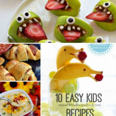10 Easy Kids Recipes