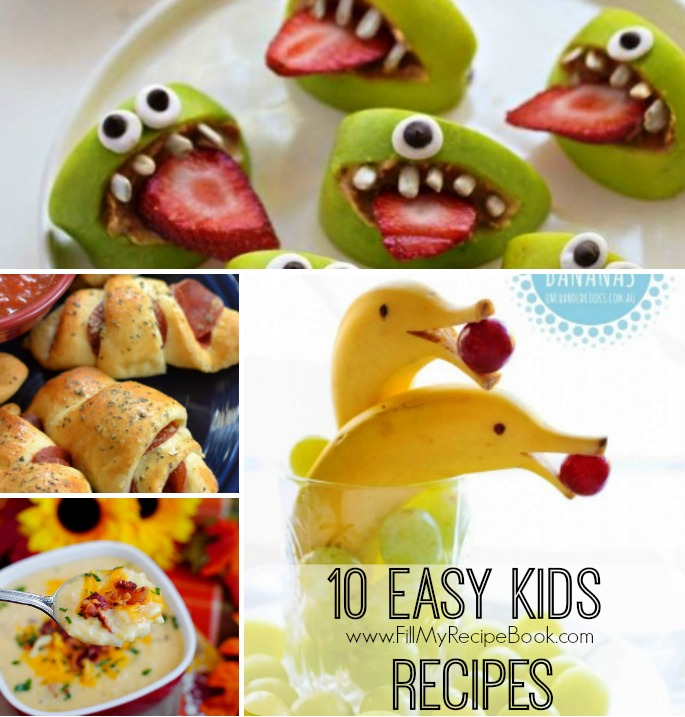 10 easy kids recipes fill my recipe book 10 easy kids recipes forumfinder Gallery