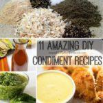 11 Amazing DIY Condiment Recipes