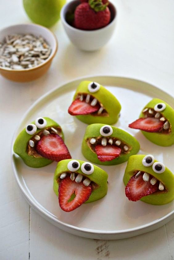 healthy-snacks-recipes-silly-apple-bites-perfect-for-after-school-recipe-via-fork-and-beans