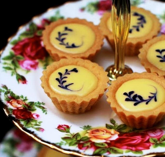Bluberry cheese tart