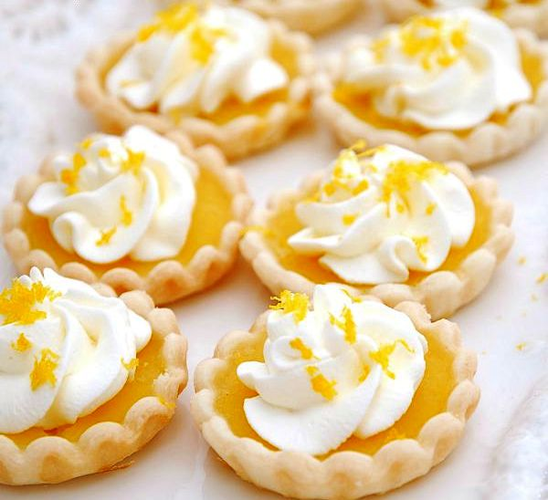 Easy lemon tartlets