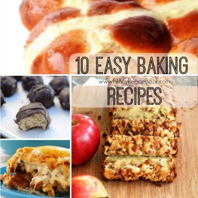 10 Easy Baking Recipes