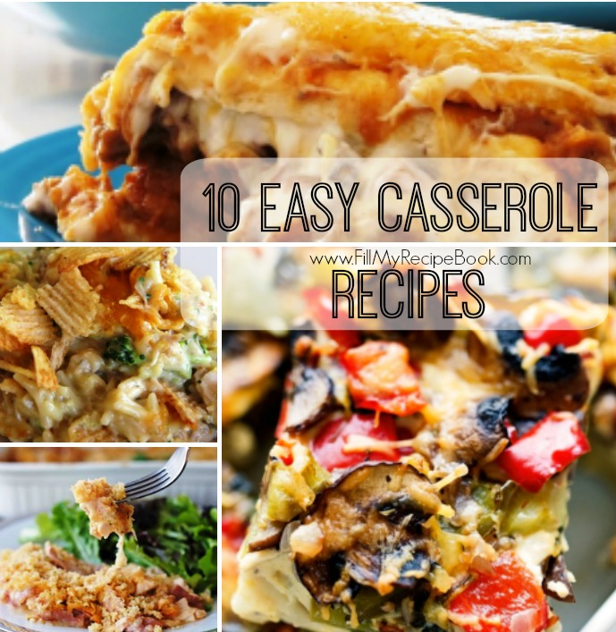 10 easy casserole recipes fill my recipe book 10 easy casserole recipes to bake in a jiffy make use of left overs as well no waste enjoy the meal forumfinder Choice Image