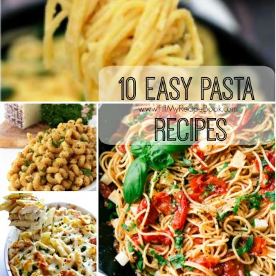 10 Easy Pasta Recipes