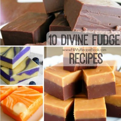 10 Divine Fudge Recipes