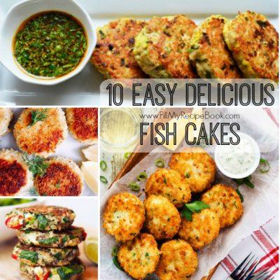 10 Easy Delicious Fish Cakes