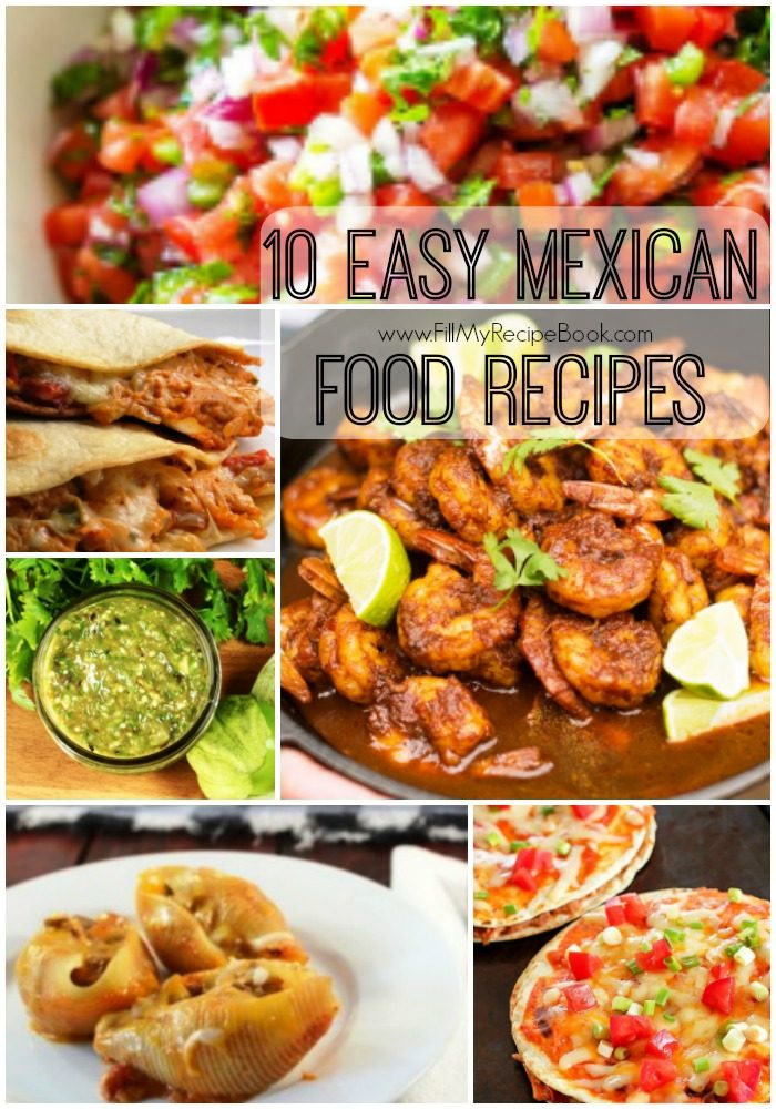 10 easy mexican food recipes fill my recipe book get the book forumfinder Choice Image