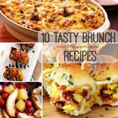 10 Tasty Brunch Recipes