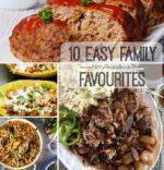 10 Easy Family Favourites Recipes