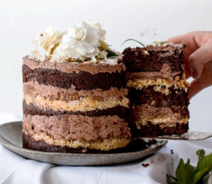 Vegetarian German Chocolate Cake Recipes