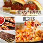 10 Easy Italian Recipes