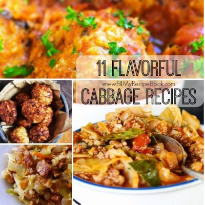 11 Flavorful Cabbage Recipes