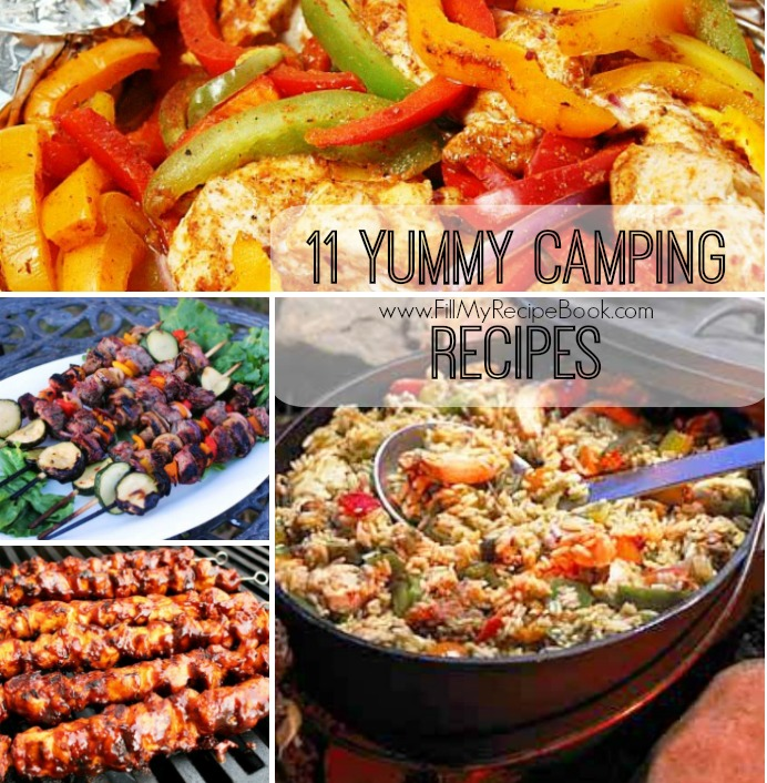 11 Quick And Easy Camping Recipes: 11 Yummy Camping Recipes