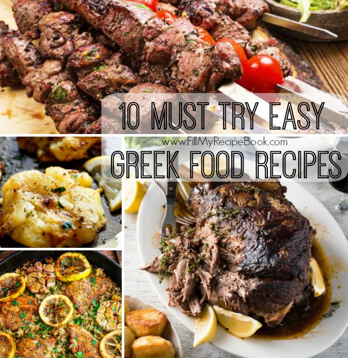 10 must try easy greek food recipes fill my recipe book 10 must try easy greek food recipes forumfinder Choice Image