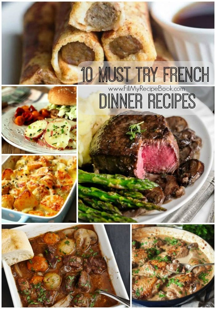 10 Must Have Makeup Palettes For 2017: 10 Must Try French Dinner Recipes