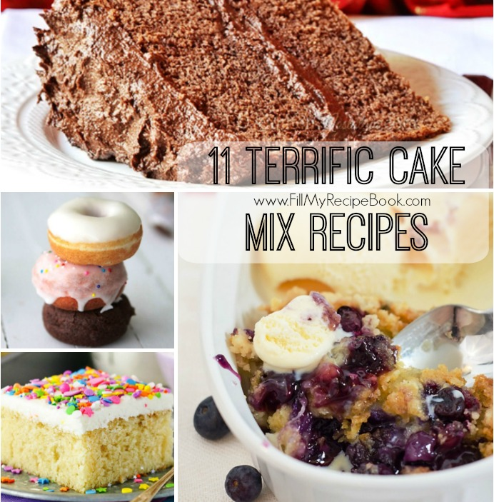 Chocolate Dump Cake With Cake Mix