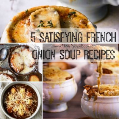 5 Satisfying French Onion Soup Recipes