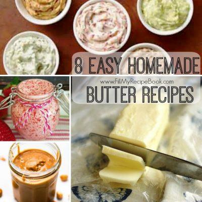 8 Easy Homemade Butter Recipes