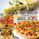 10 Easy Savoury Quiche Recipes