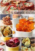 10 Homemade Healthy Chip Recipes