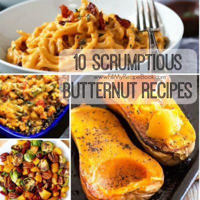 10 Scrumptious Butternut Recipes