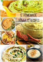 12 Homemade Hummus Recipes