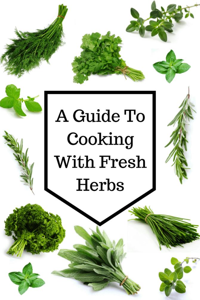 vegan guide herbs in cooking