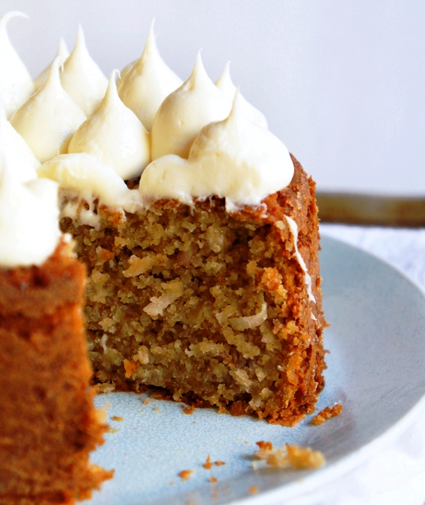 Banana Cake With Toffee Icing