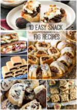 10 Easy Snack Fig Recipes